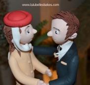 Emirates flight crew wedding topper