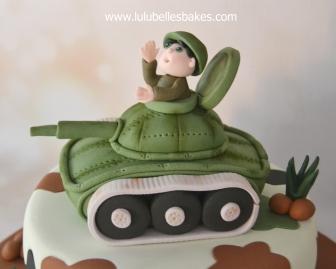 Army tank topper