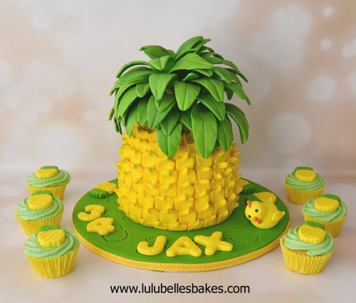 Pineapple Cake Ideas