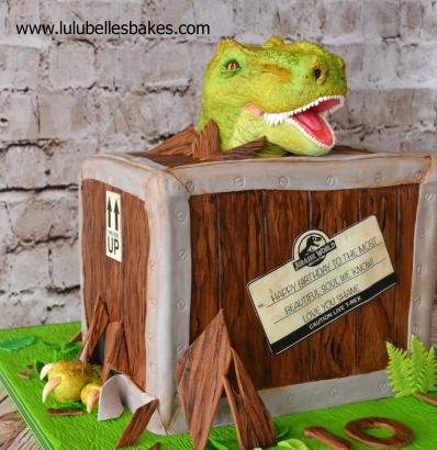 Dinosaur in box