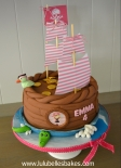 Girl Pirate Cake
