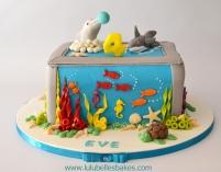 Aquarium cake