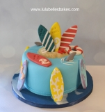 Surfer's cake