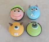 Monsters Inc cupcakes