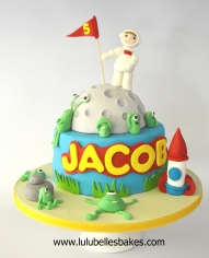 Spaceman cake