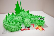 Buttercream dragon