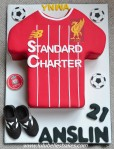 Liverpool Soccer shirt with boots