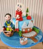 Joint cake for husband and wife