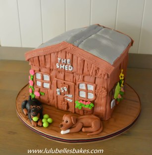 Mancave / workshop cake