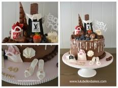 Favourite things drip cake
