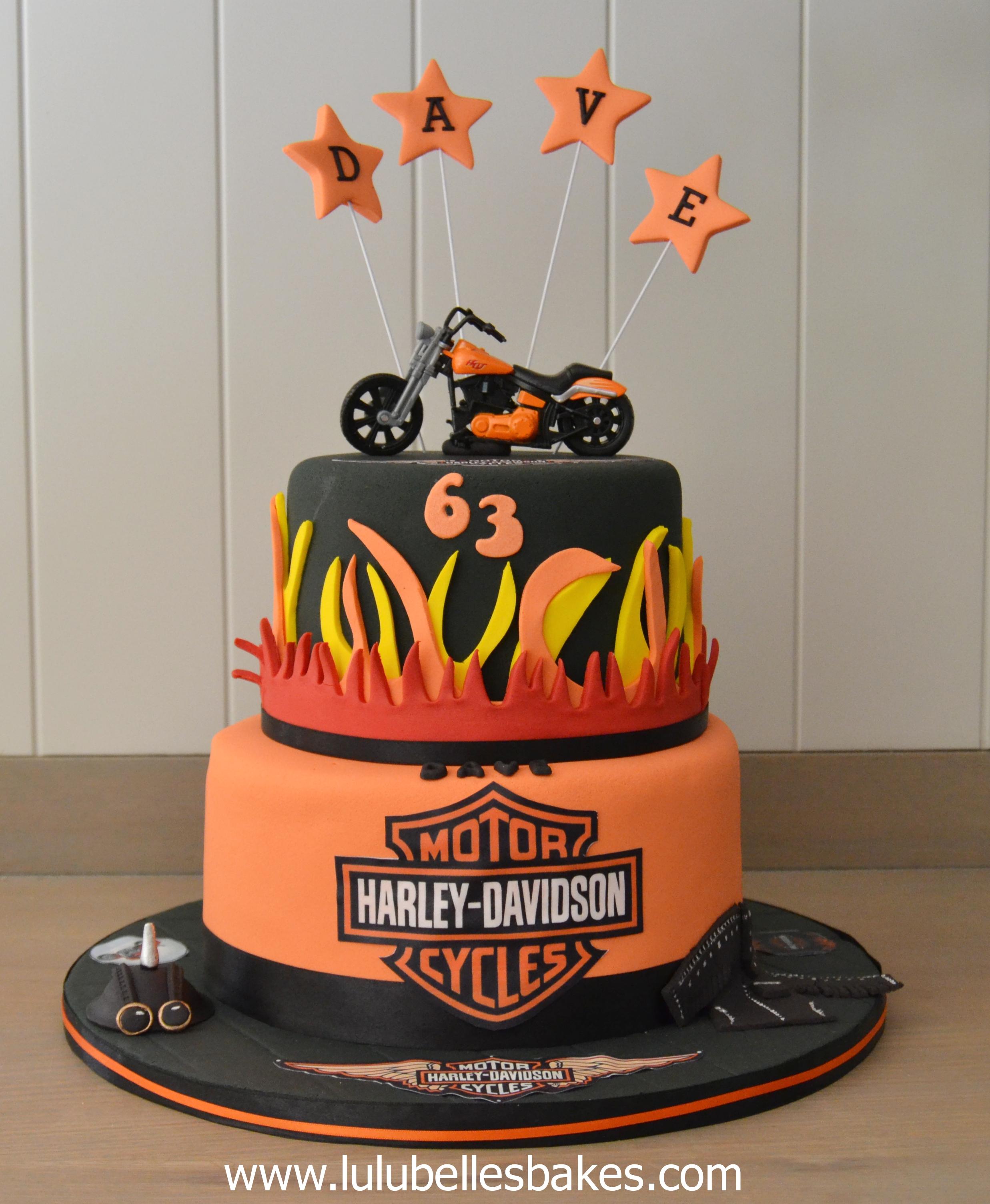 Harley Davidson Cake Decorations Showing Post Media For Harley Davidson Birthday Cake Cartoon