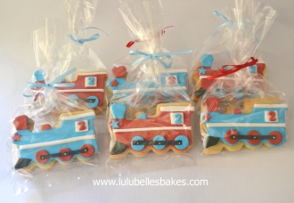 Train biscuits