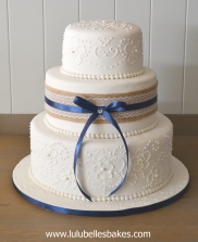 Embroidery cake