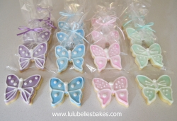 Butterfly biscuits