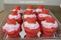 Dress cupcakes