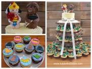 Buttercream ridge and cupcakes