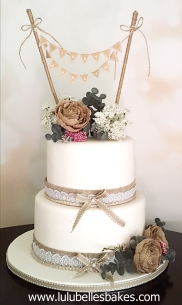 Rustic with bunting