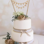 Elegant rustic with bunting