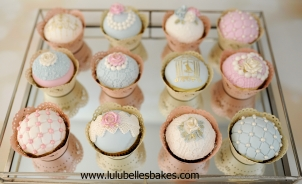 Antique cupcakes