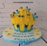 Minions Giant cupcake