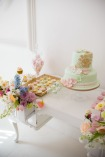 Pastel sweet table