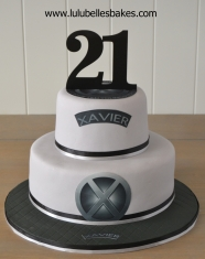 XMen themed cake