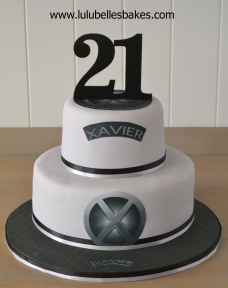 XMen themed cake