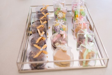 Chocolate fudge, Caramel fudge, meringue kisses and homemade chocolates - perfect table gifts!