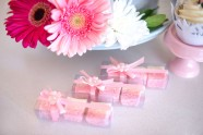 Pink and White coconut ice