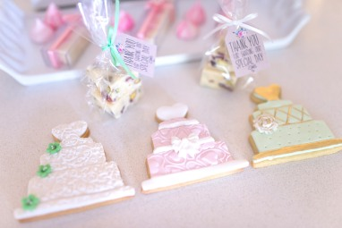 Wedding Theme biscuits