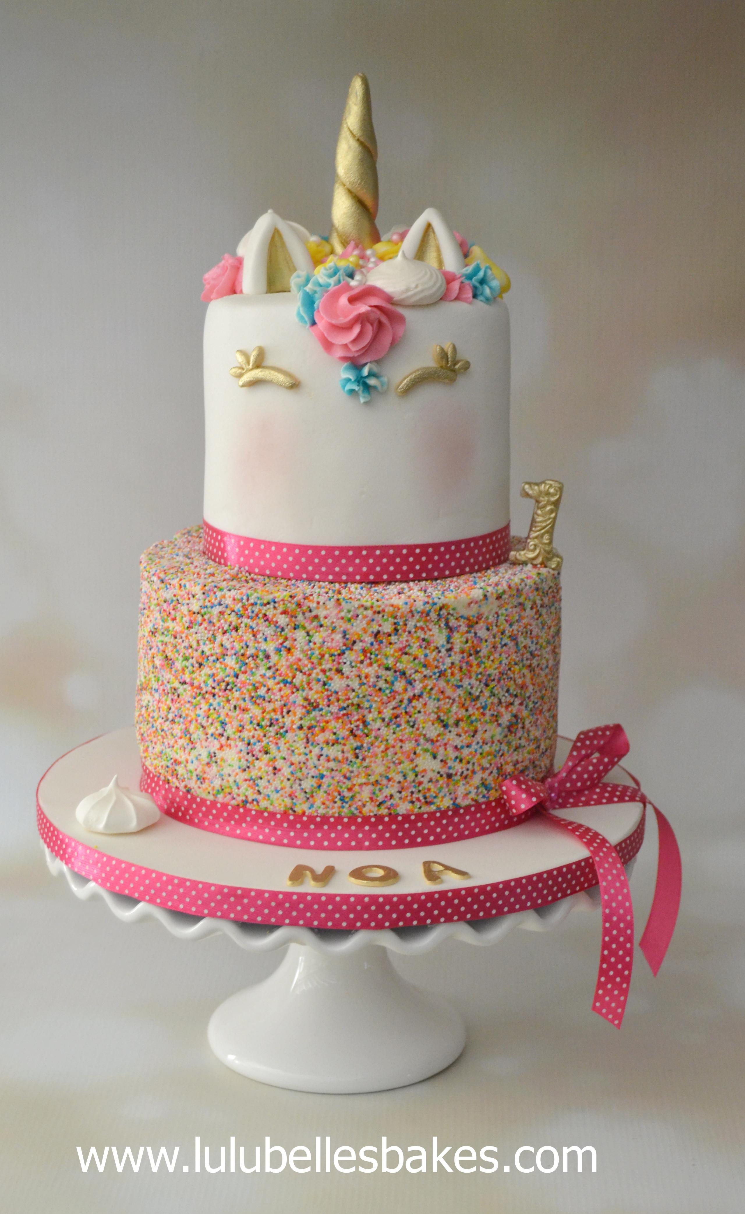 Unicorn Wedding Princess Chocolate Fairy Cakes