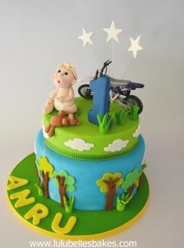 Baby and bike