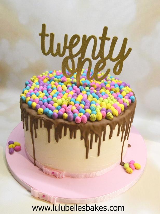 Easter 21st cake