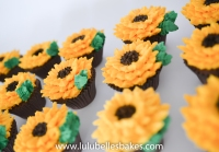 Buttercream Sunflowers