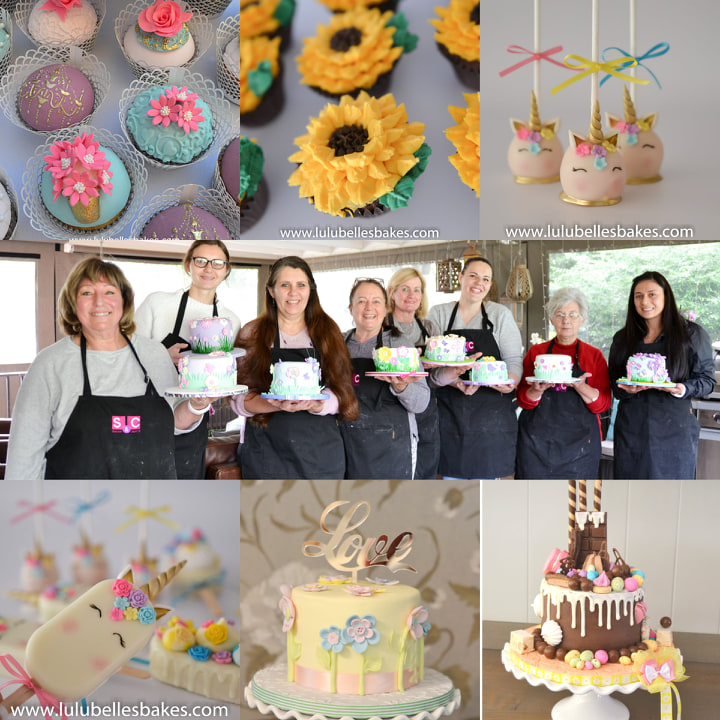Lessons in cupcake and cake decorating